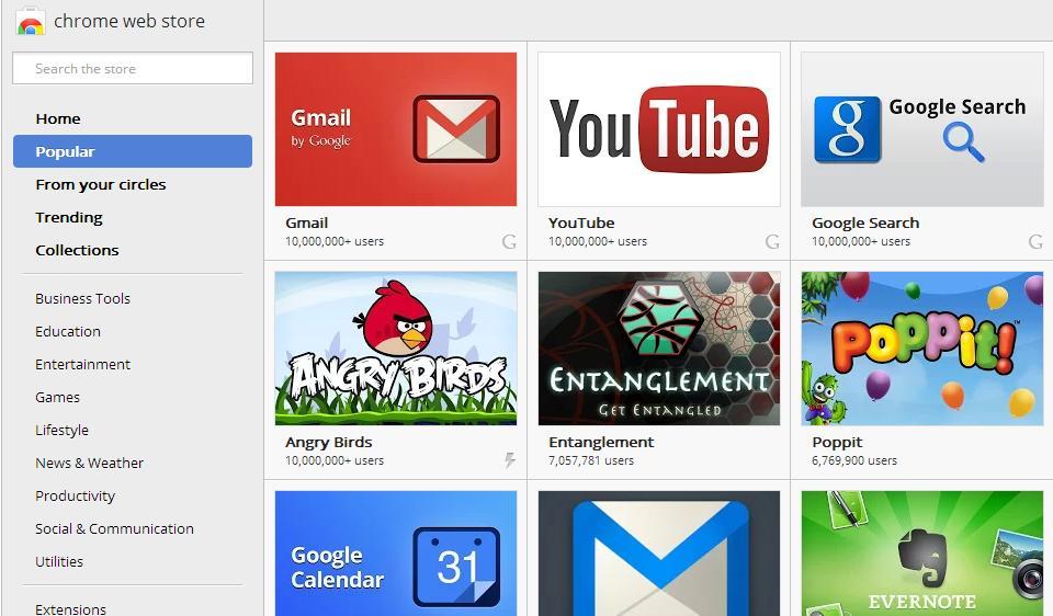 Chrome Os Webstore